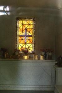 Newell Mausoleum Interior