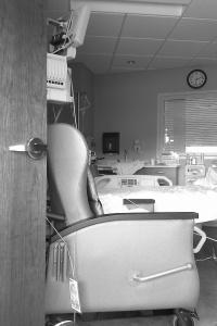 St. Joseph's Hospital room