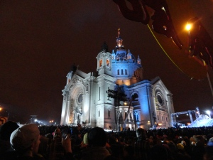 Red Bull Crashed Ice - St. Paul Cathedral